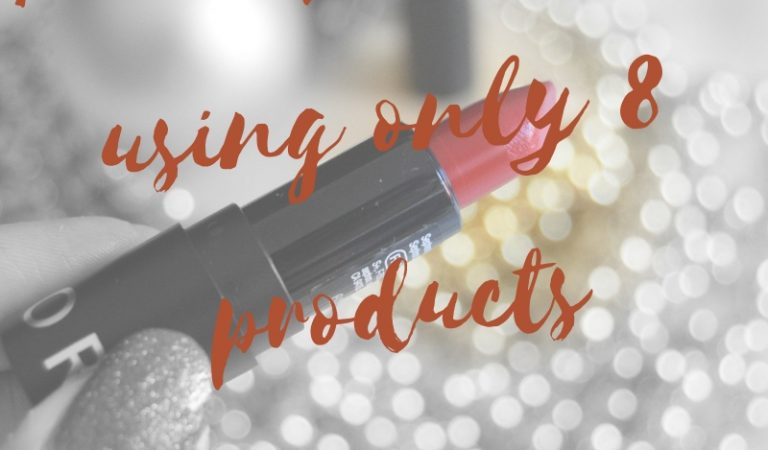 Everyday Makeup using only 8 products