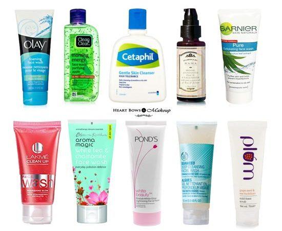 5 Best Drugstore Face Wash