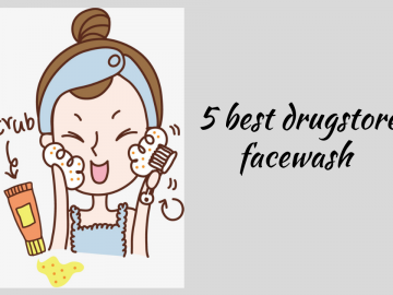 5 best drugstore face wash