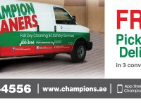 champion cleaners, dubai, dry cleaners dubai