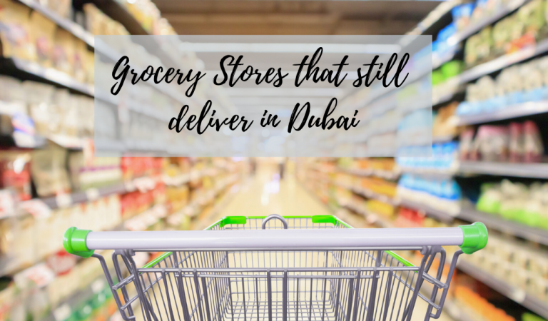 Grocery Stores that still delivers in Dubai